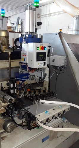 Biesse edgebander machine PUR glue units