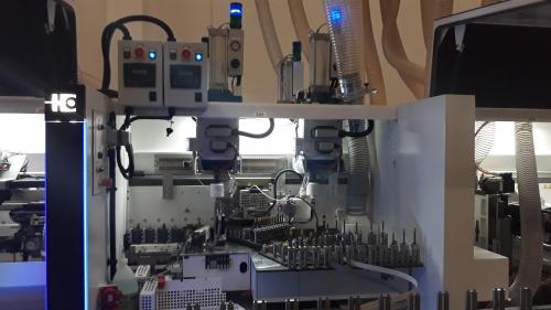 Homag edgebander PUR glue units modification